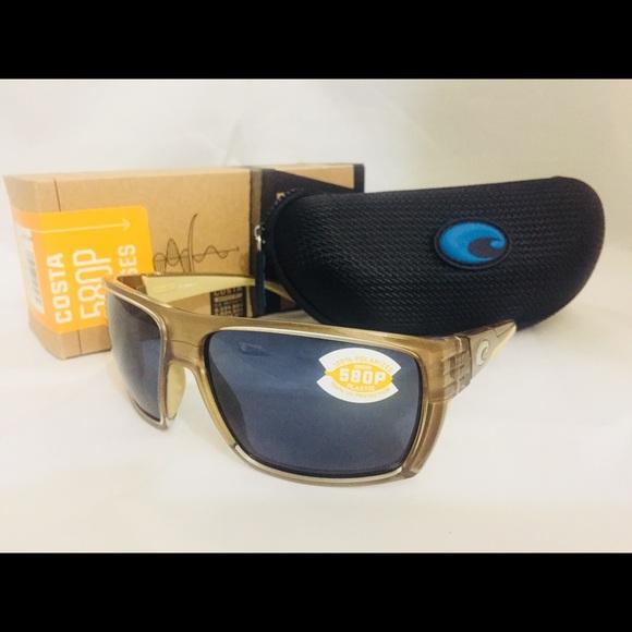 218294f753b New Costa Del Mar Hamlin 580P Polarized Sunglasses